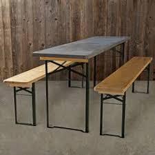 beer garden furniture. Fine Furniture Found Galvanized Biergarten Table  Great Design As They Store Easily  During The Winter On Beer Garden Furniture Pinterest