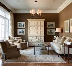 Best Dramatic Color: Sherwin Williams, Tea Chest  Traditional Living Room  ...