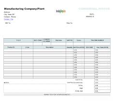 simple proforma invoicing sample blank commercial billing form