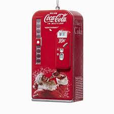 Vending Machine Coke Cool Coca Cola Vending Machine Ornament Old Fashioned Coke Ornaments