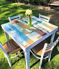 make furniture out of pallets. Wooden-pallet-outdoor-dining-tables-Ideas Make Furniture Out Of Pallets I