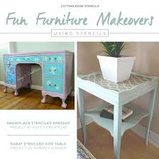 old furniture makeovers. Simple Makeovers Fun Furniture Makeovers Using Stencils Inside Old