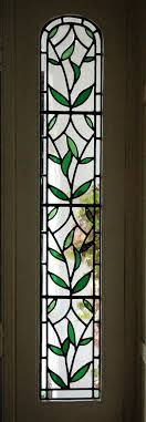s stained glass panels side for doors
