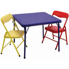 alluring childrens folding table and chairs with showtime childrens folding table chairs set showtime at