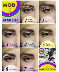 mod makeup tutorial feeling inspired by twiggy the 1960 s