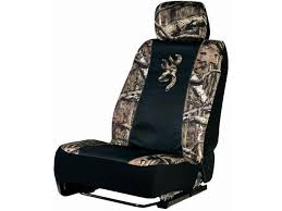 browning mossy oak infinity universal camo seat cover low back