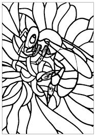 Abeille Insectes Coloriages Difficiles Pour Adultes Justcolor