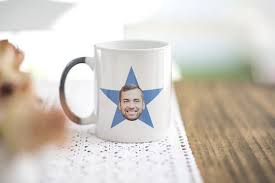 the office star mug. The Office Your Face Star Mug The