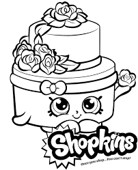 Save your appetite for dessert! Wonda Wedding Cake Coloring Page Shopkins