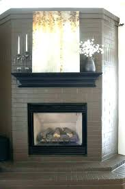 black fireplace surround black tile