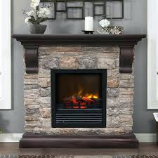 electric or gas fireplace add our own brick or stone electric fireplace can be mounted above electric or gas fireplace