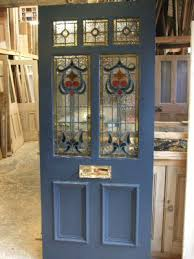 wooden front doors with glass stined glss glzed wood front doors with glass panels