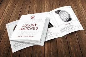 Luxury Watches 3 Fold Brochure