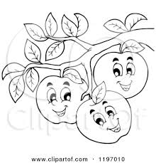 apple tree clipart black and white. apple tree clip art 94 clipart black and white k