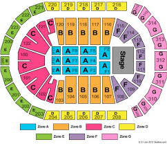 The Gwinnett Center Seating Chart The Arena At Gwinnett Center Tickets And The Arena At