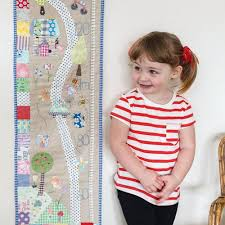 Embroidered Growth Chart When I Grow Up Measuring Chart