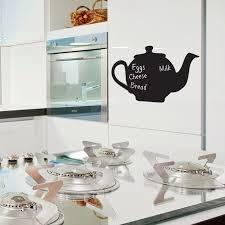 chalkboard wall stickers tea pot bouf com