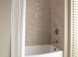 bathtub shower combination installing a tub and shower combo