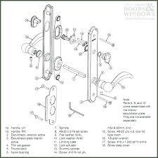 door latch embly diagram latch embly door striking parts of door stunning double door door