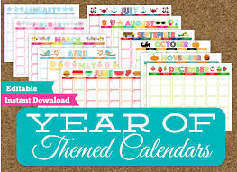Collection Of Editable Preschool Calendar Template | Download Them ...