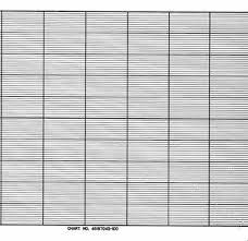 46187045 100 Honeywell Fanfold Chart Paper
