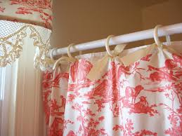 retrospect red toile shower curtain and matching valance in sizing 1600 x 1200