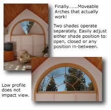 Arched Window Treatment  Curtains Blinds And Other Coverings For Semi Circle Window Blinds