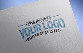 Free Logo Mockup Free Logo Mockup Psd On Textured Paper Free Logo Paper