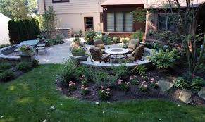 Party In The Back 40 Backyard Landscaping Ideas And Tips KG Simple Backyard Landscape Design Collection