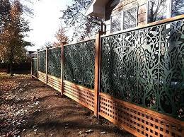 vinyl lattice fence panels. Decorative Lattice Panels Garden Tree Of Life Pattern On Vinyl Fence By Works . Beautiful