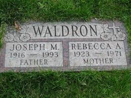 rebecca alice gerhardt waldron a grave memorial rebecca alice <i>gerhardt< i> waldron