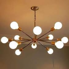 sputnik style chandelier with its starburst of light this sputnik style chandelier evokes mid century modern sputnik style chandelier
