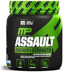 amazon musclepharm ault sport pre workout powder with high dose energy focus strength and endurance with creatine taurine and caffeine