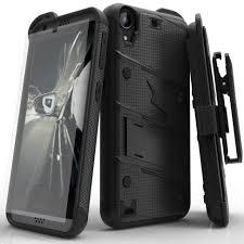 htc desire 530. zizo bolt cover for htc desire 530 military grade + glass screen protector - zizo® htc i
