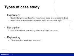 Case Study  Tobacco Economics Control Project  PDF Download Available  SlideShare The Case Study Method Case studies offer several advantages