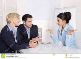 business meeting or job interview stock photo image  job interview or business meeting man and w sitting at the stock photos