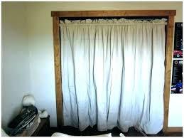 curtain instead of door closet door ideas curtain curtain instead of door hanging curtains instead of