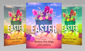 Get Ready For Easter 2018: 20 Free And Premium Psd Flyer Templates ...