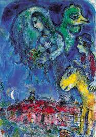marc chagall paintings painting marc chagall s waiting the painting is owned by the sd