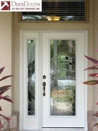 modern entry doors with sidelights. Plastpro Entry Door And Sidelight With Entropy Glass By ODL Modern Doors Sidelights