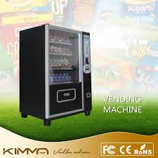 Small Snack Vending Machine Simple China 48 Columns 48 Selections Small Snack And Drink Dispenser