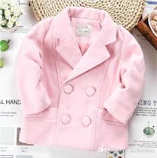 baby boy pea coat kids girls pea coats candy color baby girl wool blends red double baby boy pea coat