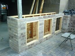 how to build outdoor bar ating grill surround make stools island how to build outdoor bar