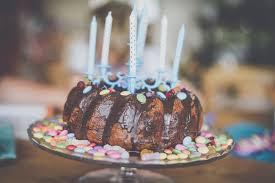 Birthday Cake With Candles Hd Photo By Kiwihug At Kiwihug On Unsplash