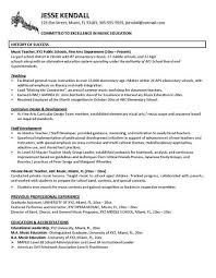 Student Teaching Resume Samples Sample Resume Letters Job Application