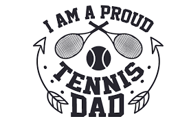 I Am A Proud Tennis Dad Svg Cut Files Download Free Svg Files Creative Fabrica