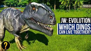 Which Dinosaurs Can Live Together Jurassic World Evolution Dinosaur Compatibility Guide