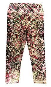 Patterned Yoga Pants Simple Amazon Appleletics Women's Unique MultiPatterned Printed Yoga