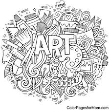 Small Picture Stunning Doodle Art Coloring Pages Photos Coloring Page Design