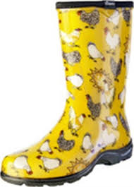 garden boots for women. Modren Garden Sloggers 5016CDY10 Size 10 Yellow Daffodil Chicken Womens Rain U0026 Garden Boot Intended Boots For Women W